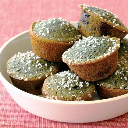 Blue Corn-Blueberry Muffins Recipe