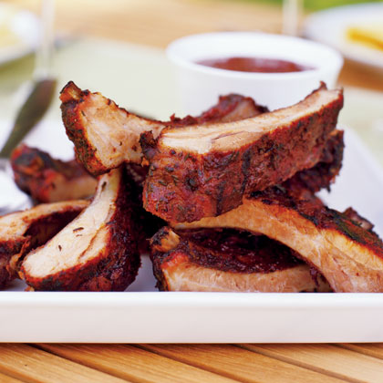 Herb-rubbed Baby Back RibsRecipe