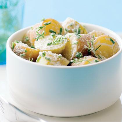 Lemon-Dill Potato Salad Recipe