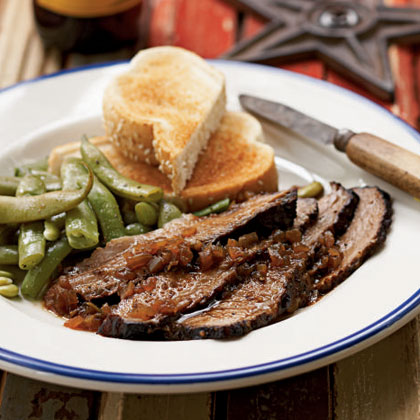 Texas Style Smoked Brisket Recipe Myrecipes