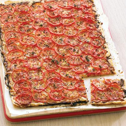 Filo Tomato Tart