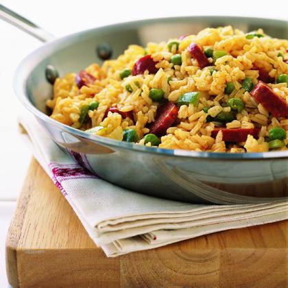Fried-Rice Jambalaya