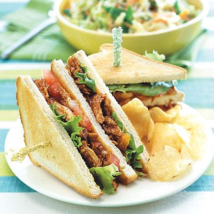 Barbecue Chicken Sandwiches Recipe - 0 | MyRecipes