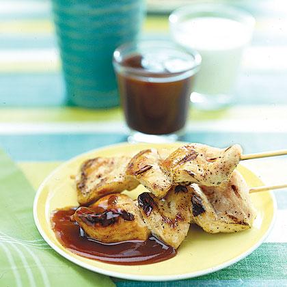 Grilled Chicken SkewersRecipe