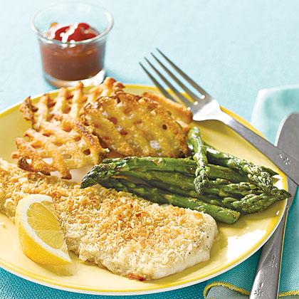 Crunchy Baked FlounderRecipe