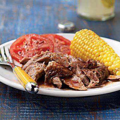 Carolina Pulled Pork with Lexington Red Sauce