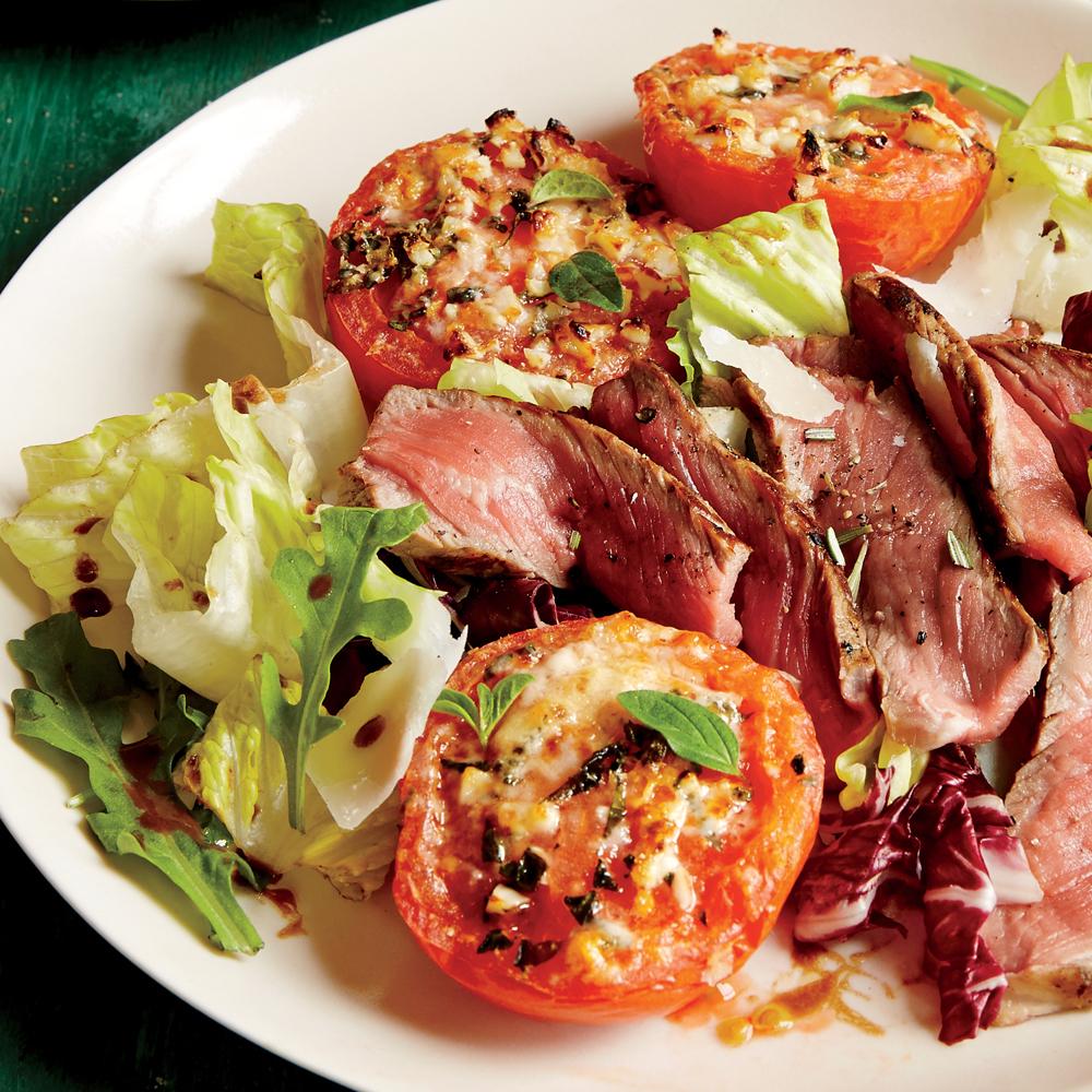 Broiled Parmesan Tomatoes