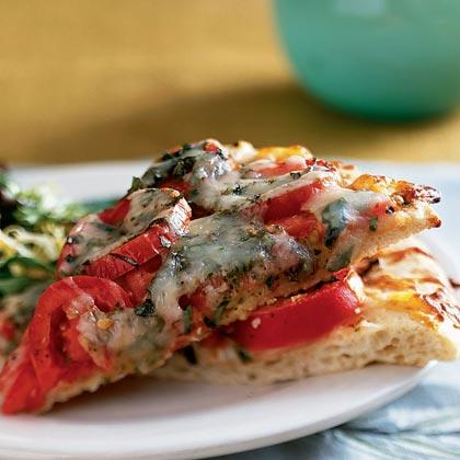 Tomato-Basil Pizza