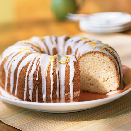 Glazed Lemon Buttermilk Cake Recipe