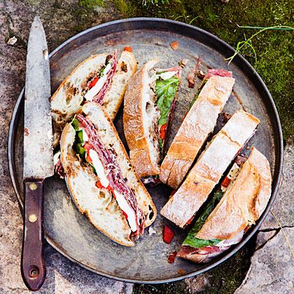 Pressed Italian Sandwiches Recipe