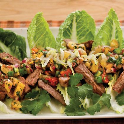 Calypso Steak SaladRecipe