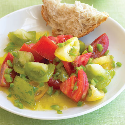 Tomato Salad with Chile and Lime Recipe