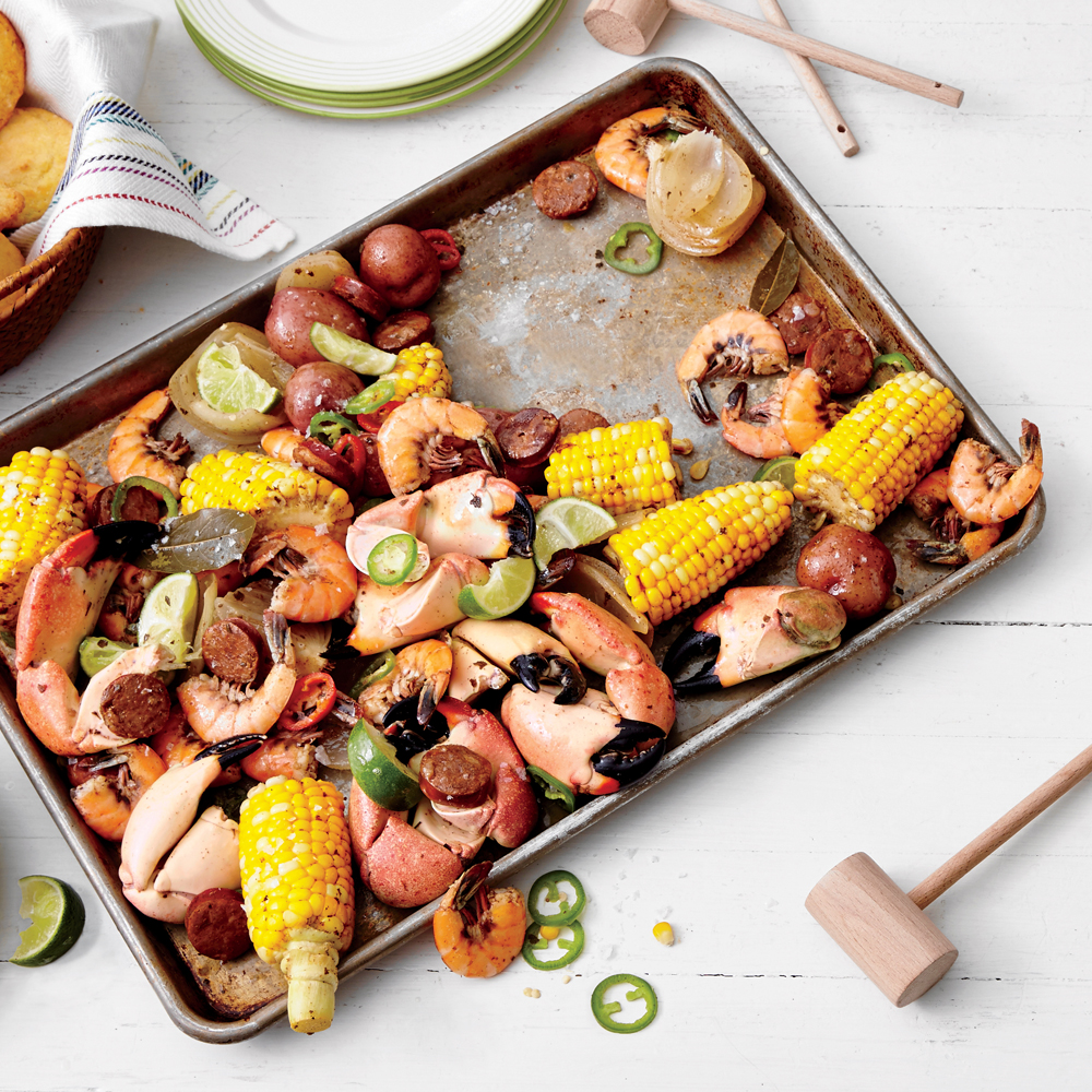 South-of-the-Border Crab Boil