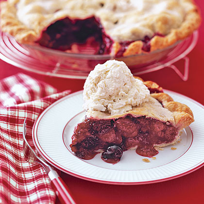 Berry Ginger PieRecipe
