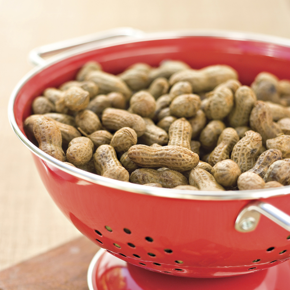 Boiled Peanuts RecipeSave yourself a trip to the concession stand by preparing this favorite football snack. If you're craving more flavor, try one of the savory variations included with the recipe.