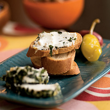 Herbed Goat Cheese Recipe