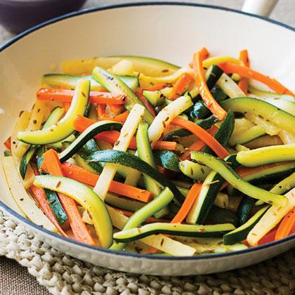 Golden Vegetables