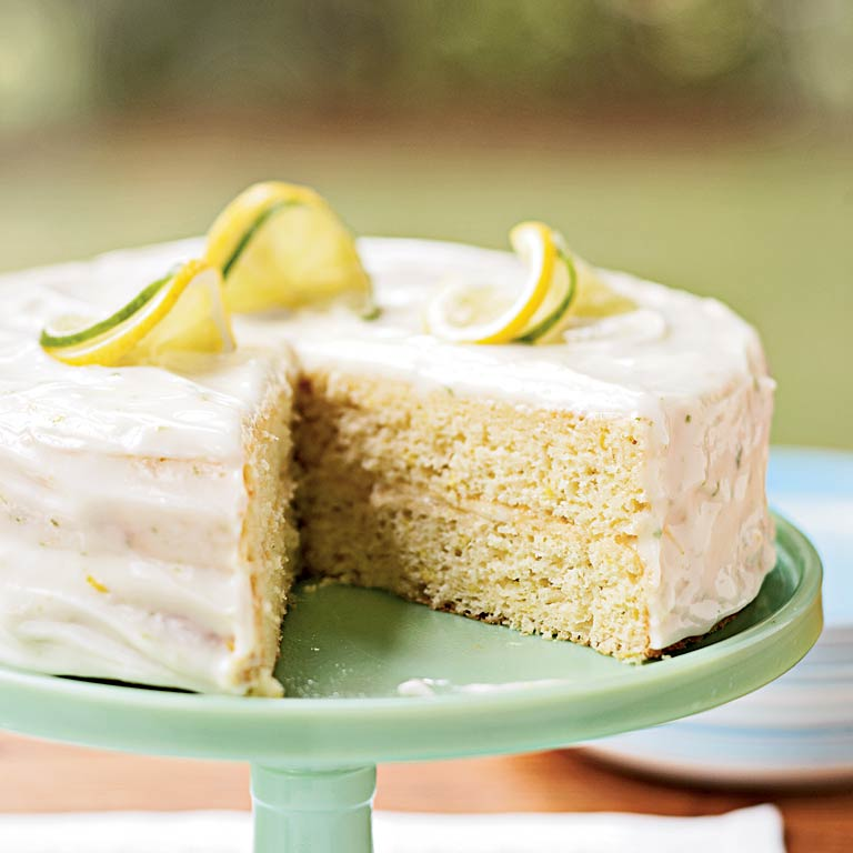 Recipes Lemon Layer Cake: Lemon-Lime Layer Cake Recipe
