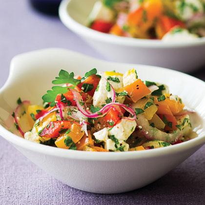 Tri-Pepper SaladRecipe