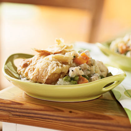 Chicken and Root Vegetable Potpie Recipe