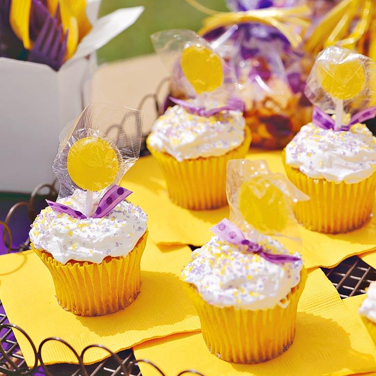Team Spirit CupcakesRecipe