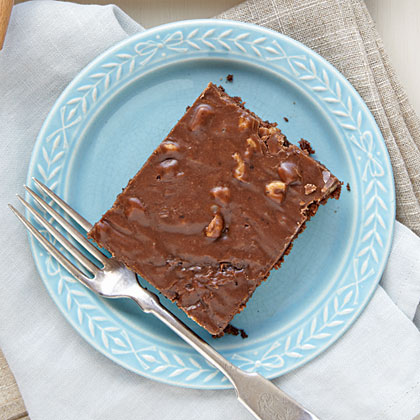 This classic cake is voted a winner time and time again in our Test Kitchens and by your reviews. It's simple, delicious, and pure chocolate goodness. Cut yourself a slice and enjoy.Texas Sheet Cake Recipe