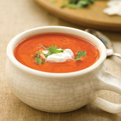 Dressed-up Tomato SoupRecipe