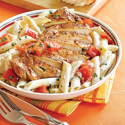 Bayou Pasta with ChickenRecipe