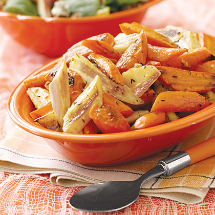 Oven-Roasted Parsnips and CarrotsRecipe
