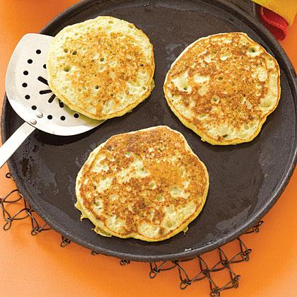 Pea Pancakes Recipe