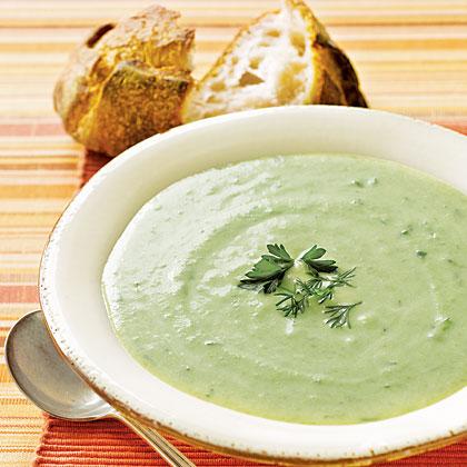 Creamy Pea Soup Recipe