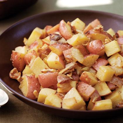 Bacon-Butter Potatoes Recipe