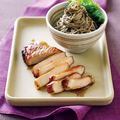 Lacquered Five-Spice Pork Recipe