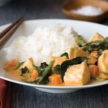 Thai Red Curry Fish Stew Recipe