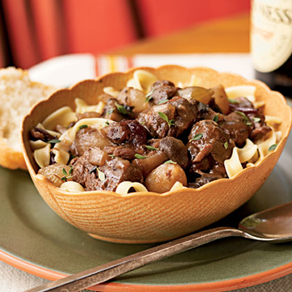 Autumn Cranberry Beef Stew Recipe