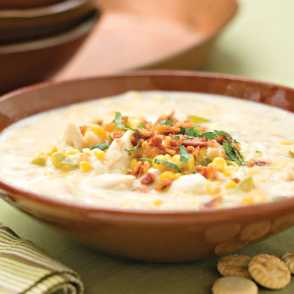 Corn and Crab Chowder Recipe | Rachael Ray | Food Network