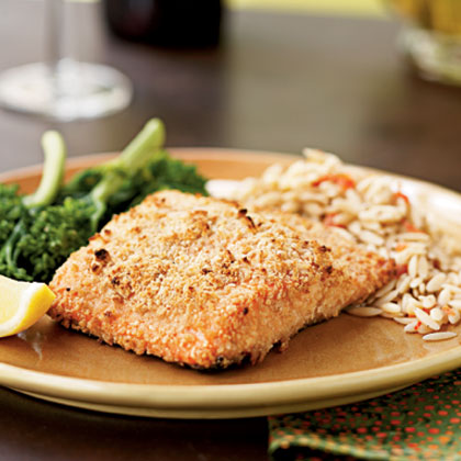 Almond-Crusted Salmon Recipe