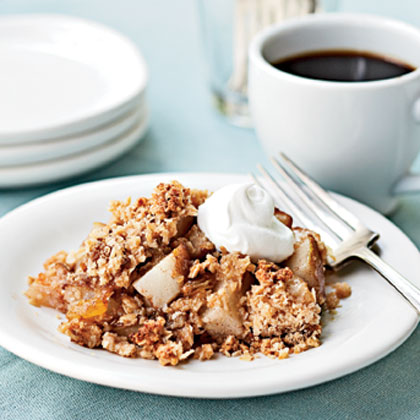 Pear Crisp with Oat Streusel Topping Recipe