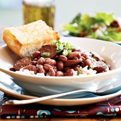 Red Beans and Rice with Smoked Turkey SausageRecipe
