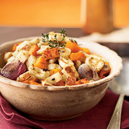 Honey and Herb-Roasted Root Vegetables