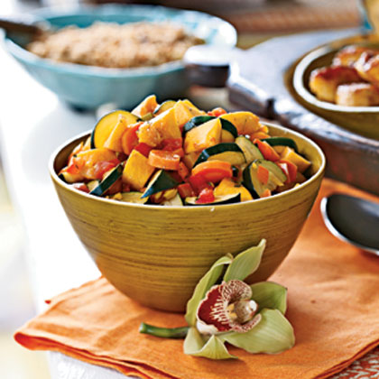 West Indian Vegetable Curry