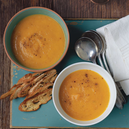 Roasted Carrot and Parsnip Soup