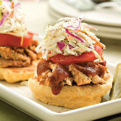 Assemble-Your-Own Barbecue Stacks Recipe