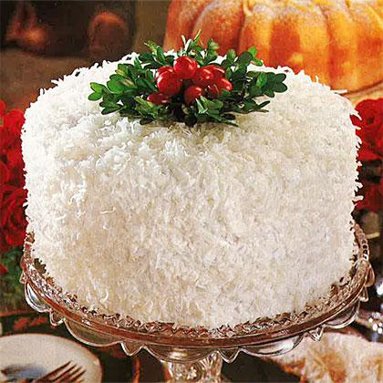 Coconut-Lemon Cake Recipe