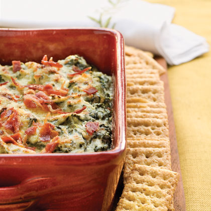 Warm Turnip Green Dip
