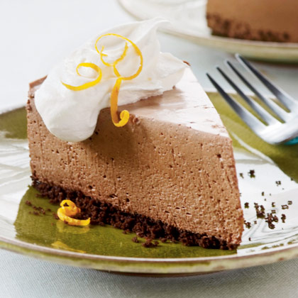 Orange-Chocolate Mousse Pie Recipe