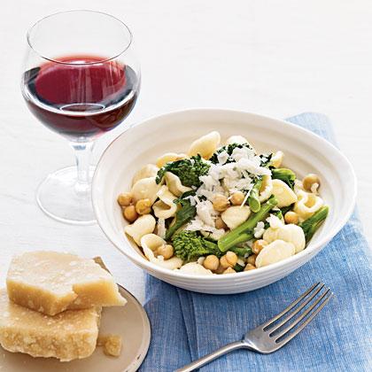 orecchiette-chickpeas-broccoli-rabe Recipe