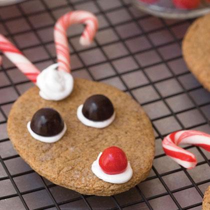 Reindeer Gingersnaps Recipe