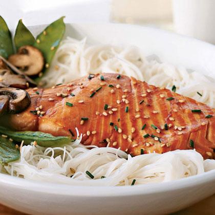 Sesame-Soy Salmon Recipe