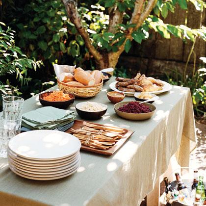 Plan a backyard oktoberfest party ideas and menus myrecipes